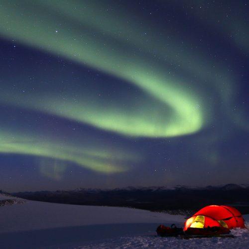 northern light svartisen