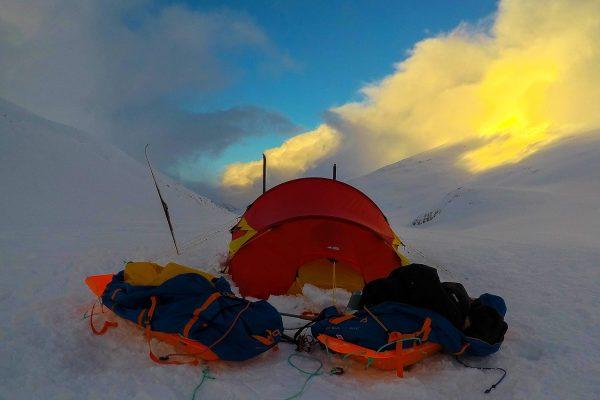 norge på tvers vinter ekspedisjon